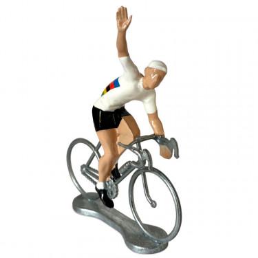 Figurine cycliste winner champion du monde _ Bernard & Eddy