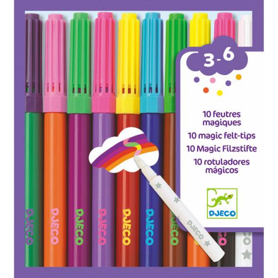 10 feutres magiques DJECO 8827