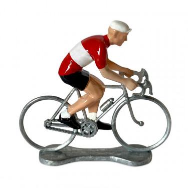 Figurine cycliste maillot Autriche _ Bernard & Eddy