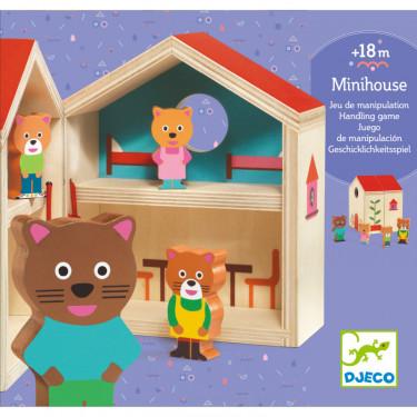 """Mini maison """"Minihouse"""" DJECO 6385"""