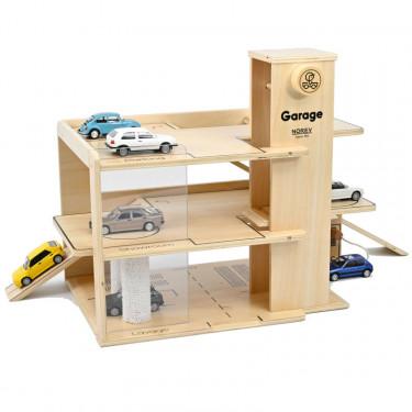 Garage en bois 3 étages NOREV