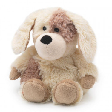 Mini peluche bouillotte Chien, Warmies Cozy junior