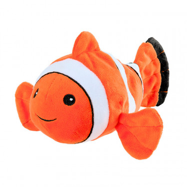 Mini peluche bouillotte Poisson clown, Warmies Cozy junior