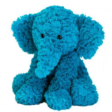 Peluche bouillotte Eléphant bleu Warmies Cozy