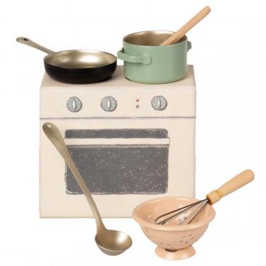 Set de cuisine pour souris Maileg