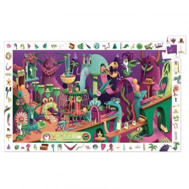 Dans un jeu vidéo, Puzzle observation 200 pcs DJECO 7560