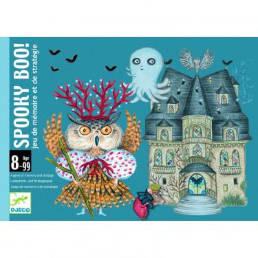Spooky Boo ! jeu de cartes DJECO 5098