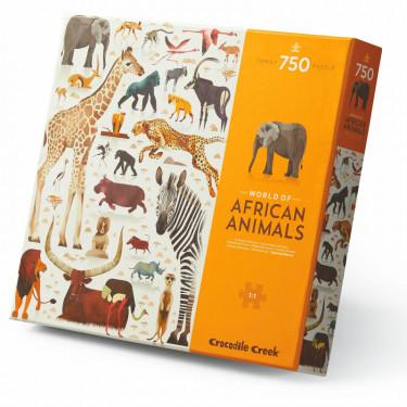 Puzzle 'Les animaux d'Afrique' 750 pcs CROCODILE CREEK
