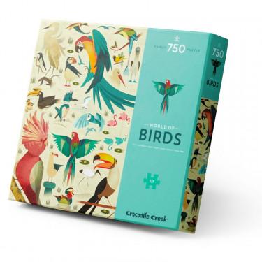 Puzzle 'Les oiseaux' 750 pcs CROCODILE CREEK
