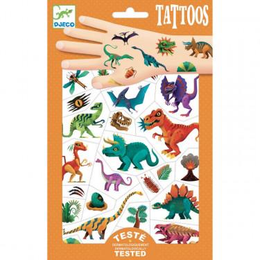 Tatouages 'Dino Club' DJECO 9598