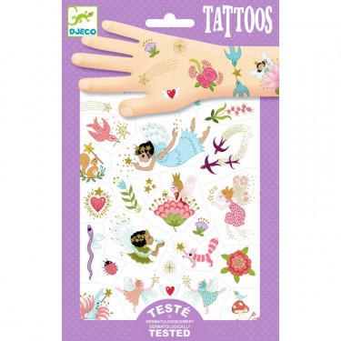 Tatouages 'Fairy Friends' DJECO 9599