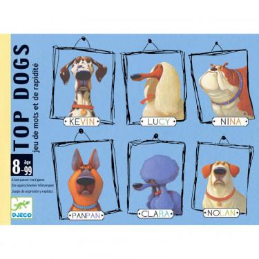Top Dogs, jeu de cartes DJECO 5099