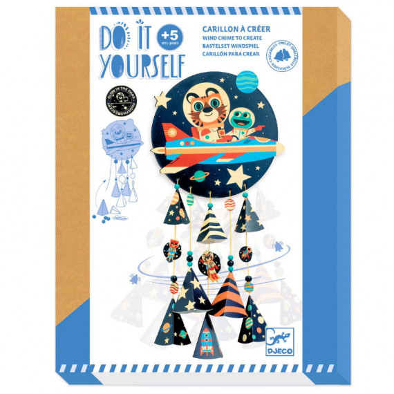 "Carillon à créer ""Stars"" DIY DJECO 7956"