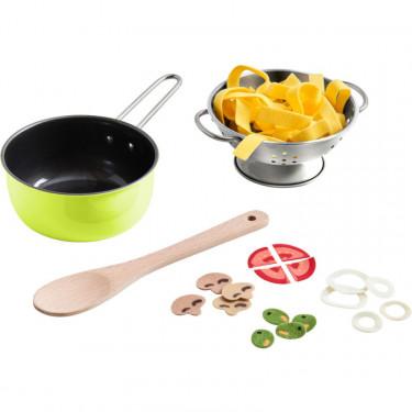 Ensemble de cuisine italienne, jouet dînette HABA 305133