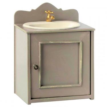 Meuble lavabo vintage miniature Maileg