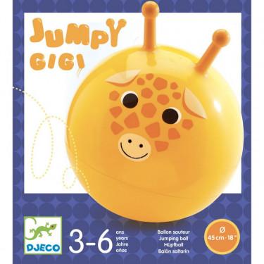 Ballon sauteur 'Jumpy Gigi' DJECO 0182