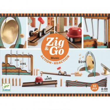 ZIG & GO Music - 52 pièces DJECO 5645