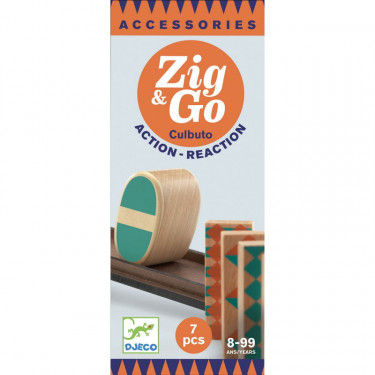 "ZIG & GO accessoire ""culbuto"" - 7 pièces DJECO 5648"