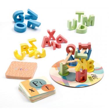 ABC BOOM, jeu de mots et d'équilibre DJECO 8543