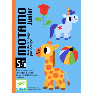 MOTAMO junior, jeu de cartes DJECO 5094
