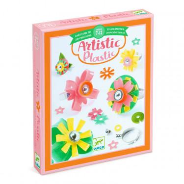 """Artistic Plastic """"Collection de bagues"""" DJECO 9499"""