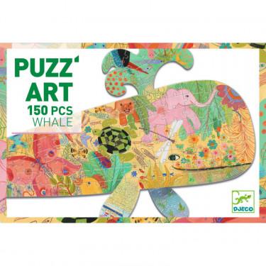 Puzzle Puzz'Art Baleine 150 pcs DJECO 7658