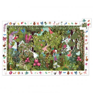 Jeux au jardin, Puzzle observation 100 pcs DJECO 7512
