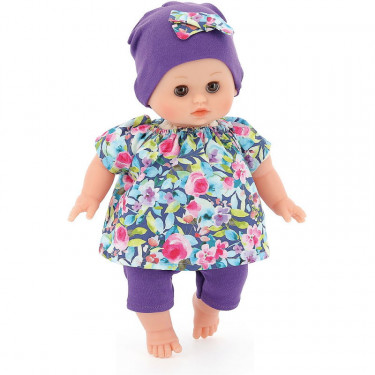 "Poupée petit câlin Ecolo doll ""Primevère"" 28cm Petitcollin"