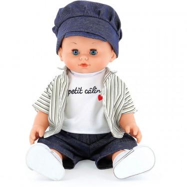 """Poupée Petit Câlin 36cm """"Jules"""" Petitcollin"""