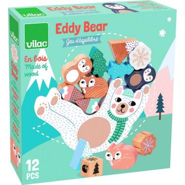 Eddy Bear, jeu d'équilibre Vilac 8505 par Michelle Carlslund