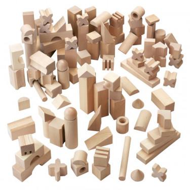 Premiers blocs de construction en bois HABA 1077-boîte géante