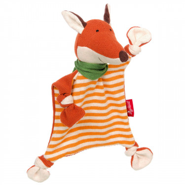 Doudou tricoté renard SIGIKID 39486