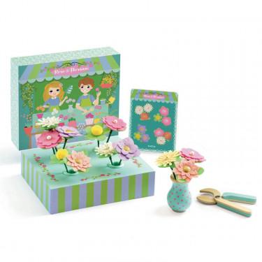 Rose & Florian, jouer à créer des bouquets de fleurs DJECO 5501