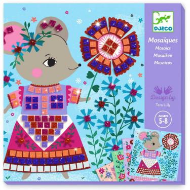 """Mosaïques """"Lovely pets"""" Art au numéro DJECO 9425"""