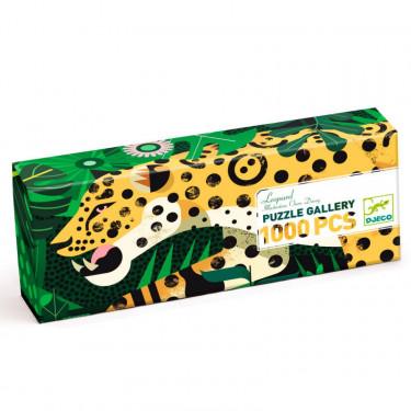Puzzle 1000 pcs Leopard DJECO 7645