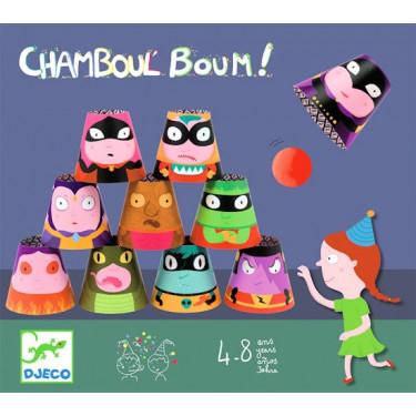 Chamboul'boum, jeu de massacre DJECO 2061