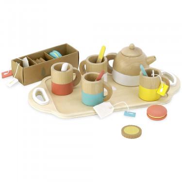 Service à thé, dînette en bois VILAC 8164
