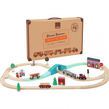 Circuit de train Grand Express Vilac 7606 par Ingela P. Arrhenius