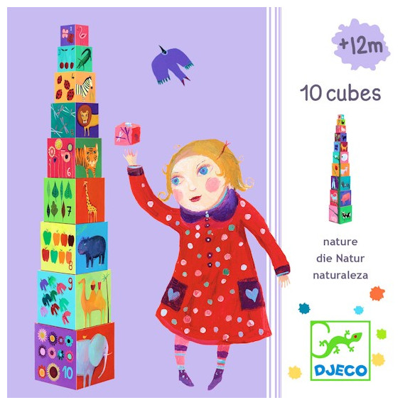 Cubes - Natures & Animaux, cubes DJECO DJO8505