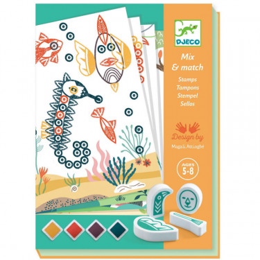 "Coffret tampons ""Surprising animals"" DJECO 8742"