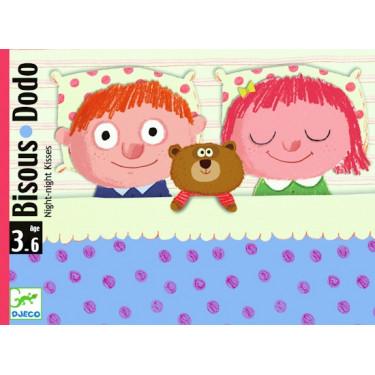 Bisous Dodo, jeu de cartes DJECO DJO5176