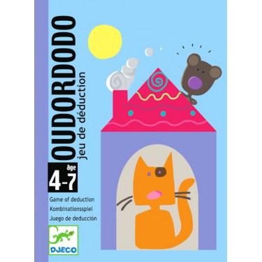 Oudordodo, jeu de cartes DJECO DJO5106