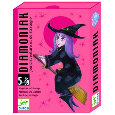 Diamoniak, jeu de cartes DJECO DJO5117