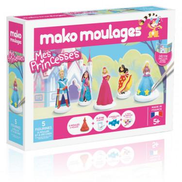 """Mako Moulages """"Prince et princesses"""" coffret 5 moules 39066"""