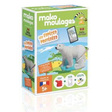 Mako Moulages 'Ours polaire' Les espèces protégées 39062