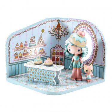 tinyshop de Charlie, maison pour figurine tinyly de Djeco 6955