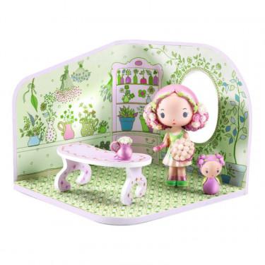 tinyshop de Rosalie, maison pour figurine tinyly de Djeco 6954