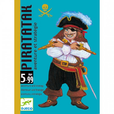 Piratatak, jeu de cartes DJECO DJO5113