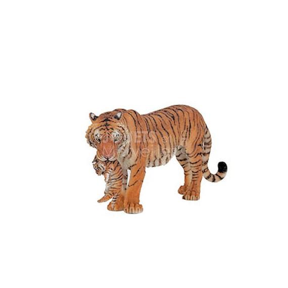 Tigresse et son bébé PAPO 50118