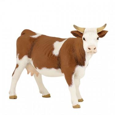 Vache simmental, figurine PAPO 51133